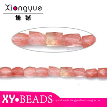 2015 Fashion Jewelry Finding Red Natural Stone Cheap Beads Online
