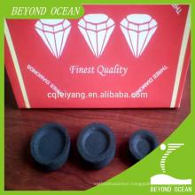 100% pure 33mm round shisha charcoal for Spain