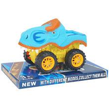 Brinquedo animal engraçado do carro do dinossauro dos desenhos animados