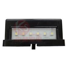 ECE aprobó luz de matrícula LED, IP 67 impermeable, 2 años de garantía