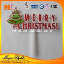 Decoración plástica vendedora caliente de la torta de la Navidad de la buena calidad