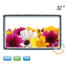 Ouvrez le cadre lisible au soleil 32 pouces TFT LCD moniteur HDMI avec une haute luminosité 1200 nit