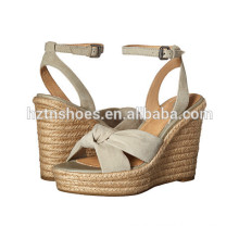 Ladies High Heel Pumps Shoes 2016 Women Espadrille Wedge Sandals