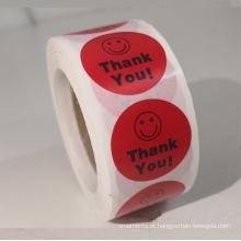 Adesivo autocolante de papel clareado