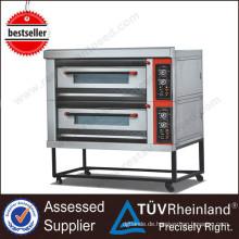Commercial Hotel Kitchen Equipment K026 2-Schicht 4-Fach-Ofen Hersteller Öfen zum Verkauf Gebrauchte Gas Pizza Oven