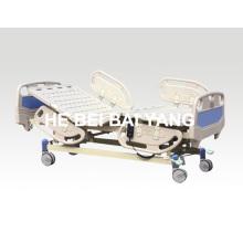 A-20 Cama de hospital elétrica de três funções com placa de plástico para cama