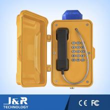 Téléphone industriel analogique / 3G, téléphone VoIP minier, téléphones sans fil en tunnel