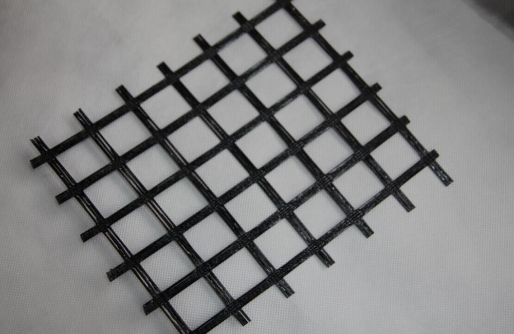 Tường chắn Polyester Uniaxial Geogrid