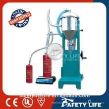 Новое состояние и электрическим приводом типа огнетушитель порошка сухого химиката машина завалки