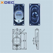 ABS-Gehäuse 8 Ohm 1 Watt 4 Ohm 2 Watt 2040 Lautsprecher