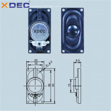 Caixa de ABS 8ohm 1w 4ohm 2w 2040 alto-falante