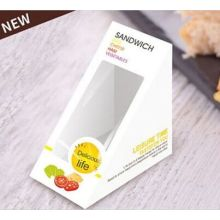 Custom Triangular Paper Sandwich Packaging Boxes