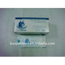 sachets de stérilisation de scellement d'approvisionnement dentaire / sachets d'emballage médical