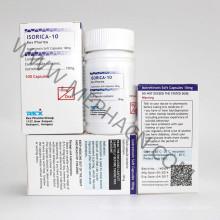 Capsule d'isotrétinoïne