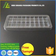 Clear Plastic Candy Sugar Sweet PET Tray
