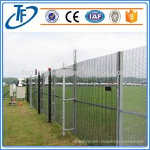 high security anti climb prison fence