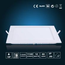 Luz de painel de LED 12W 170 * 170 * 16mm