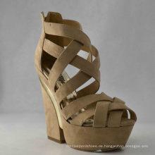 Neue Design Damen Chunky Sandalen (HCY03-049)