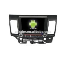 Quad Core 8 Zoll Doppeldin Auto DVD mit GPS, Bluetooth, Spiele, Dual Zone, Lenkradsteuerung für Mitsubishi Lancer EX
