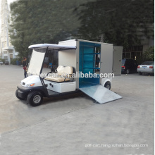 EXCAR utility vehicle, cheap electric golf cart for sale, cart with customized cargo