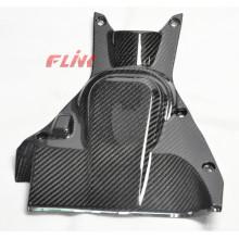 Cubierta de bomba de combustible de fibra de carbono para Ducati Diavel