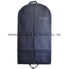 Navy Blue Non-Woven PP Suit Garment Cover Bag
