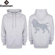 2016 style personnalisé occasionnel des hommes OEM surdimensionné dry fit polyester hoodies