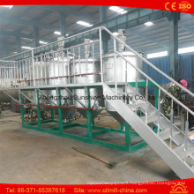 12t Soybean Oil Refining Plant Crude Oil Refinery for Sale