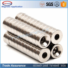 Hot sale rare earth sintered NdFeB curtain magnet