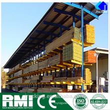 Nanjing Jracking Hot-Dip Galvanizado ajustable Warehouse acero voladizo Sistema de estantería
