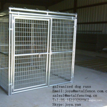 China factory wholesale solid roof dog playpens 6'x8'x6' dog cages anti-rust dog kennels