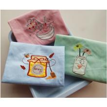 (BC-KT1014) Toalha de limpeza Design elegante toalha de cozinha 100% algodão