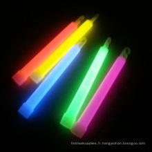 bâton lumineux de haute qualité de 6 pouces