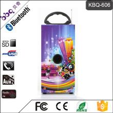 BBQ KBQ-606 10 Watt 1200 mAh Bluetooth Mini DJ Lautsprecher