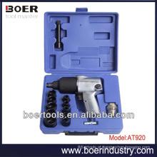17pcs kit Air Tool Kit Kit de soquete de chave de impacto de ar 17pcs