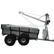 atv wood trailer with 4 wheels
