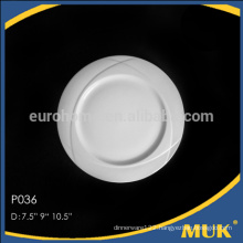 eurohome promotionals hotels banquet 5 size round design ceramic plate