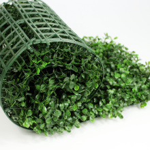 Artificial green fence landscape leaves boxwood hedge roll from china