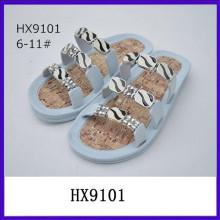 Slip en sandalias de diseñador de diamantes de fantasía de sandalia sandalias de bajo precio sandalias de señora