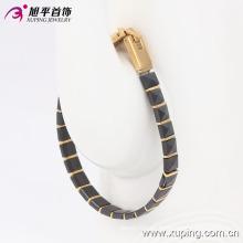 74104 Pulsera de cerámica de la joyería chapada en oro de la moda en joyería del acero inoxidable