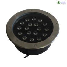 18ВТ RGB светодиодные подземный свет с 2 Летами Гарантированности