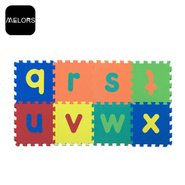 Melors Mat Kid Set Eva Letters 폼 퍼즐
