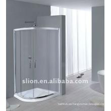 Cabina de ducha de perfil de aluminio