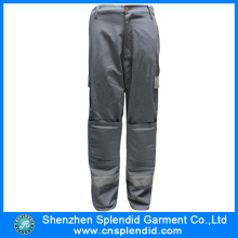 Custom Design Men Fashionable High Vis Grey Work Trousers