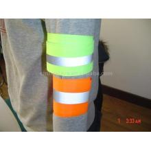 100% polyester réchauffement Bracelet et bras de cheville réfléchissant