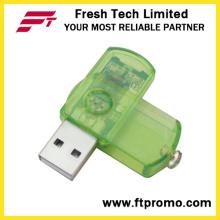 Geral do giro de plástico USB Flash Drive (D203)