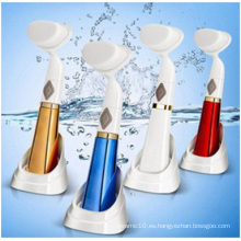 Venta al por mayor cepillo de limpieza facial 3D, cara de lavado de vibración, cepillo eléctrico