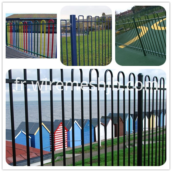 Bow Top Fence