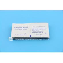 Single Use Medica Device 70% Alcohol prep pad