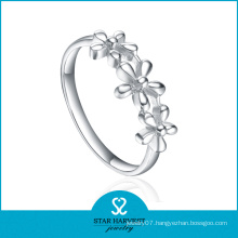 Flower Shaped 925 Sterling Silver Ring (SH-R0390)